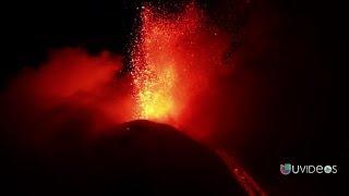 los cinco los volcanes más activos del mundo