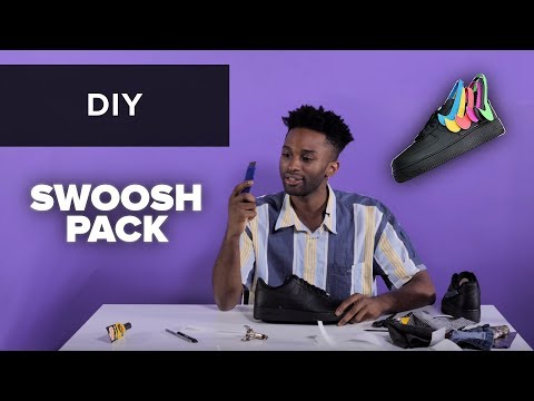 HOW 2 TO DO UR OWN SWOOSH PACK AFs / DIY