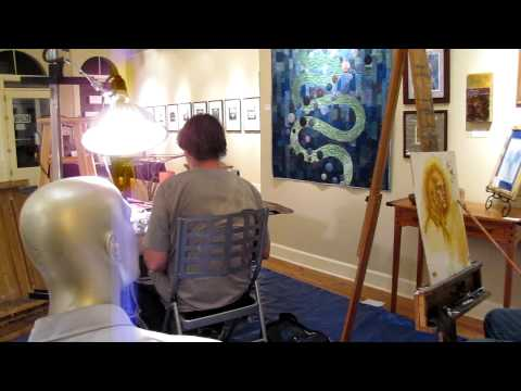Russ Flint Art Classes in Quincy California
