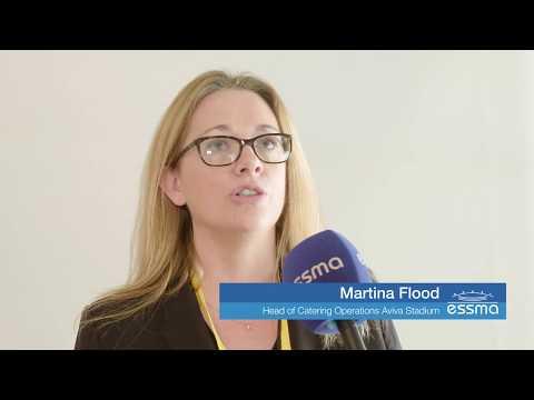 Meet the expert - Martina Flood , Head of Catering Operations Aviva Stadium
