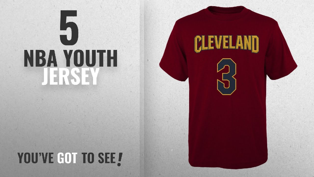 e4f47882e Top 10 NBA Youth Jersey [2018]: Isaiah Thomas Cleveland Cavaliers #3 Red  Youth Home Name & Number T