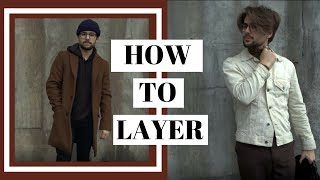 How to Layer Clothes | Winter Layering 101 | 4 Ways to Layer Clothing