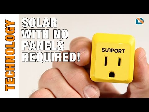 SunPort - Plug In & Use Solar - No Panels Required #FREEad