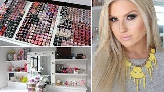 Makeup Collection & Storage ♡ Shaaanxo 2014