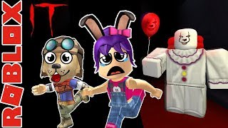 ROBLOX - Fleeing the Killer Clown It - the CLOWN killings - C/Troy