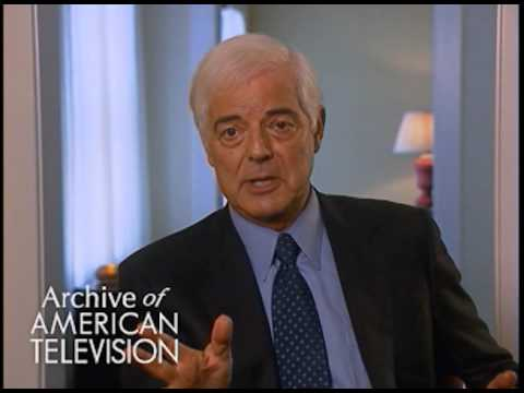 Nick Clooney discusses his style of  reporting  EMMYTVLEGENDS.ORG