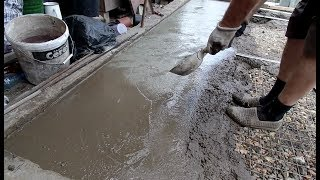 Как своими руками сделать бетонный пол мастер класс от Дачного мастера