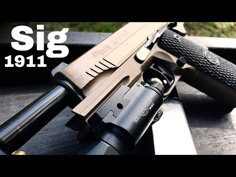 Sig Emperor Scorpion 1911  : one YEAR later...