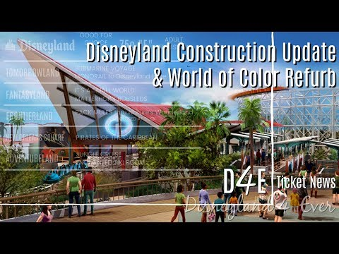 Spring Construction Update & World of Color Refurb - D4E-Ticket News