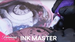 'Brains on Display' Elimination Tattoo Preview | Ink Master: Season 8 thumbnail