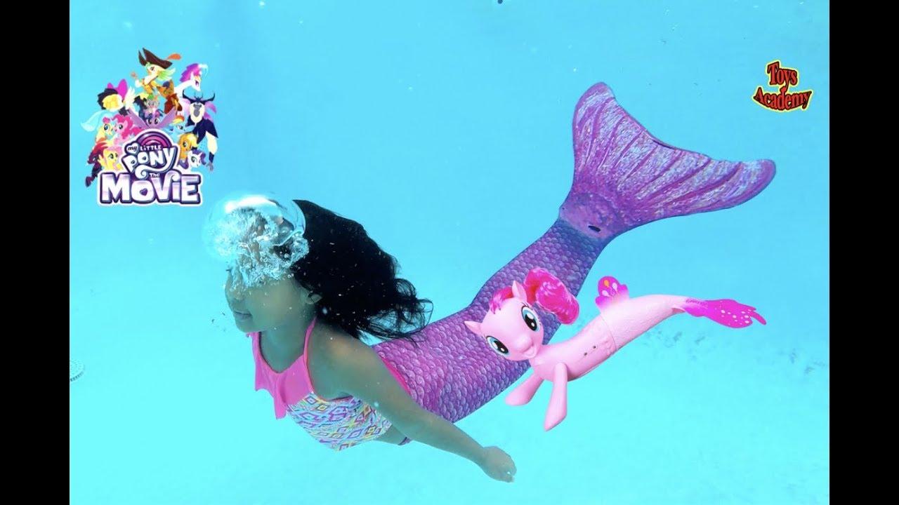 Magic Unicorn Grants Wish Mermaid My Little Pony Seapony Toys