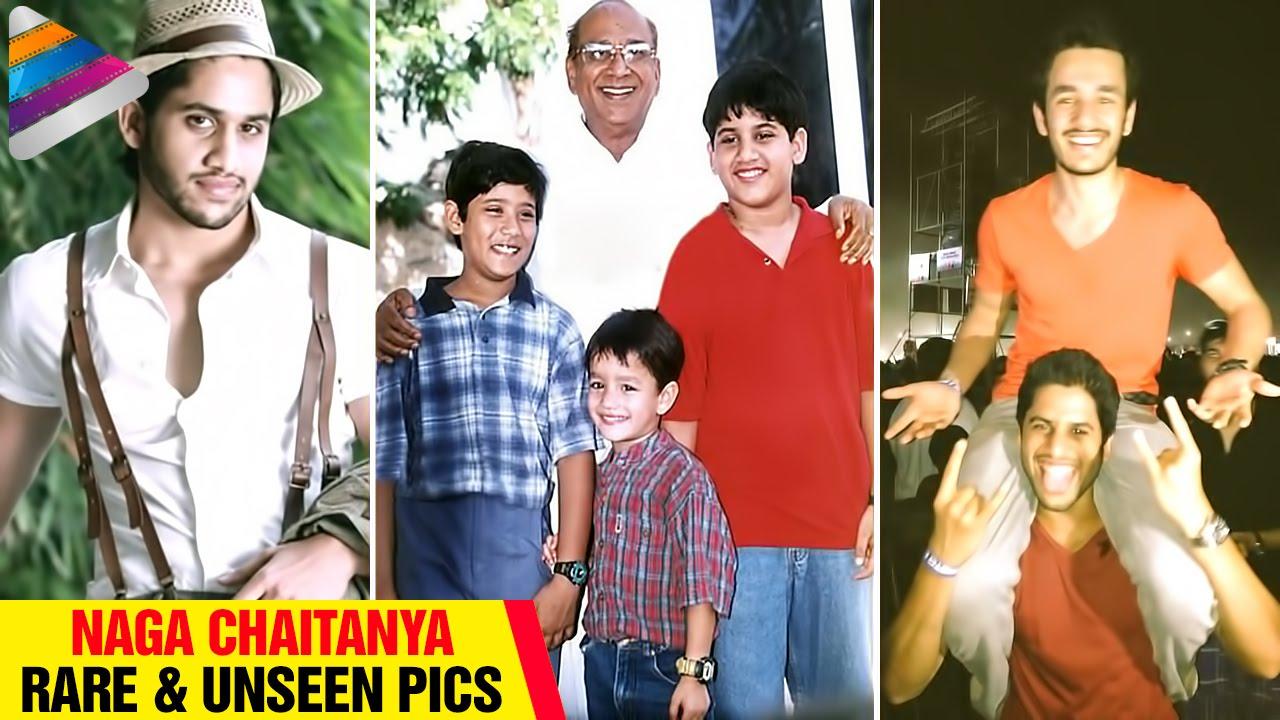 Naga Chaitanya Rare Amp Unseen Pics Childhood Pictures