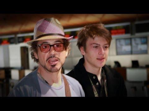 Robert Downey Jr.'s Son, Indio, Arrested on Drug Charges