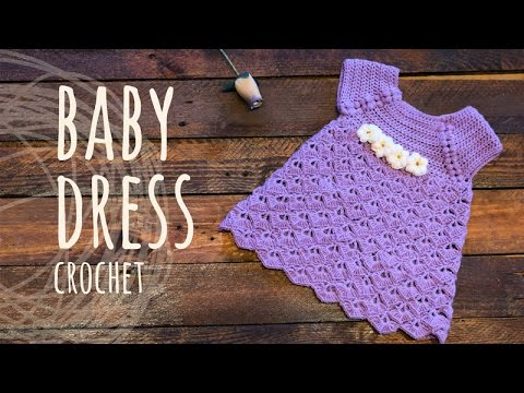 d3ad58264 Tutorial Baby Crochet Dress - YouTube
