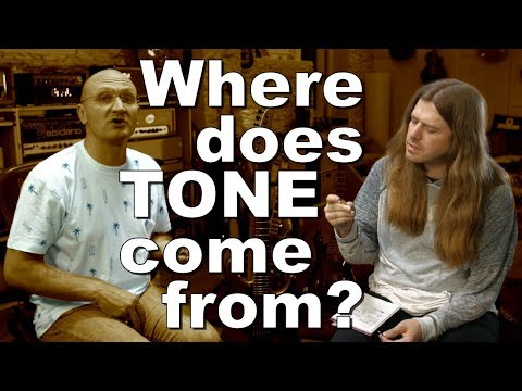 WHAT is tone and WHERE does it come from?