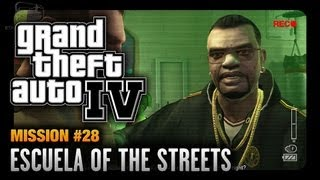 GTA 4 - Mission #28 - Escuela of the Streets (1080p)
