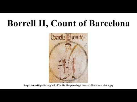 Borrell II, Count of Barcelona