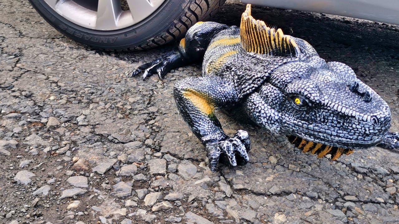 Download Crushing Crunchy & Soft Things by Car! EXPERIMENT Car vs wild crocodile