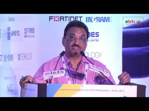 elets Maharashtra Cooperative Summit 2016 - S S Sandhu, Principal Secretary, Cooperation...