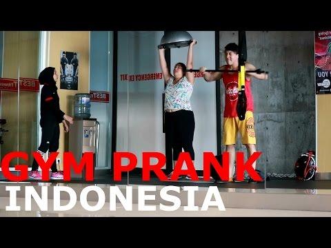 GYM PRANK INDONESIA - wkwkwk - brandon kent