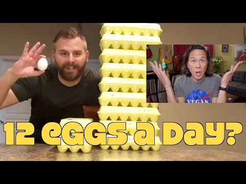 12 Eggs A Day For Better Health? Reacting To Simple Man's Experiment