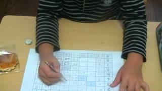 鶴田式算数教育 ある1年生が、お菓子を食べながらかけ算の勉強をしてい...