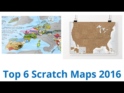 6 Best Scratch Maps 2016