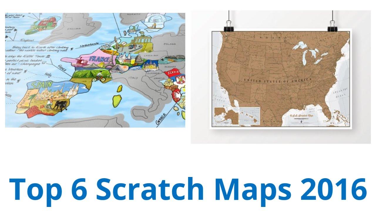 6 best scratch maps 2016 youtube 6 best scratch maps 2016 gumiabroncs Images