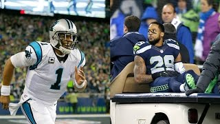 Cam Newton Benched For Not Wearing Tie, Earl Thomas Retires?