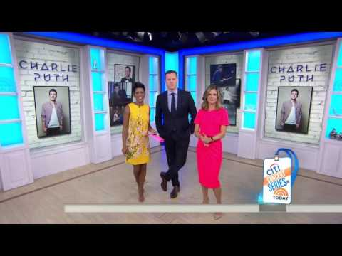 """Charlie Puth Performs """" One Call Away """" 