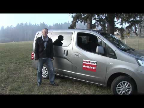 Nissan NV200 Evalia - Weekend Magazin Autotest