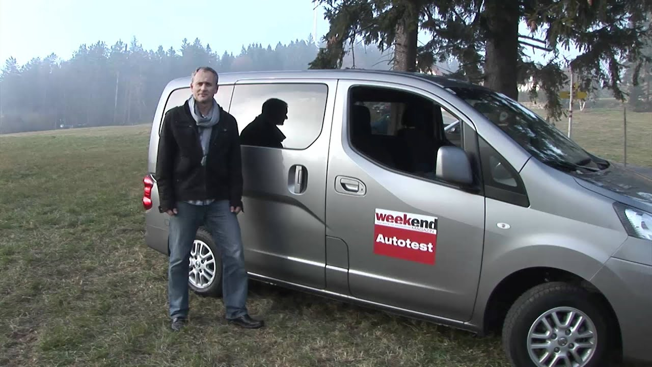 Super Nissan NV200 Evalia - Weekend Magazin Autotest - YouTube TB06