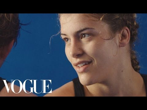 Olympic Wrestler Helen Maroulis Fights Like a Girl   Vogue