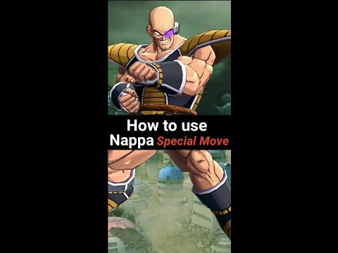 DB Legends - How To Use Nappa's Special Move?