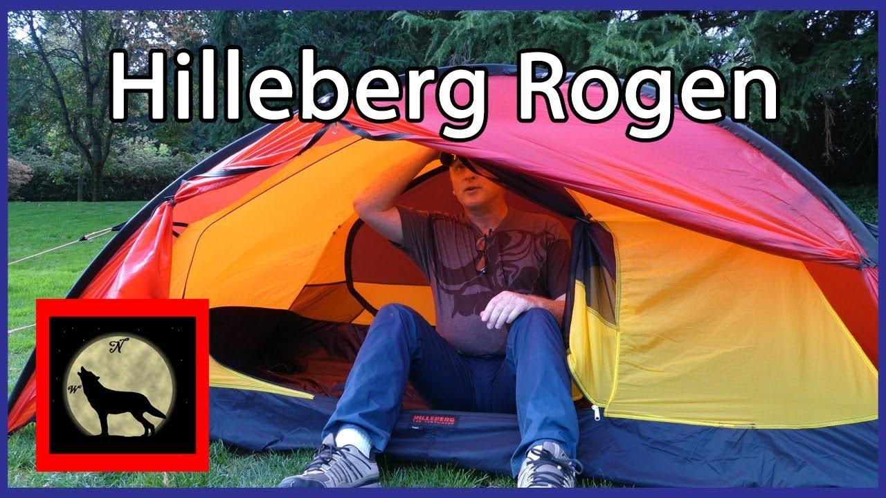 Hilleberg Rogen - Redesigned Strongest Lightweight 2 person Backpacking Tent & Hilleberg Rogen - Redesigned Strongest Lightweight 2 person ...