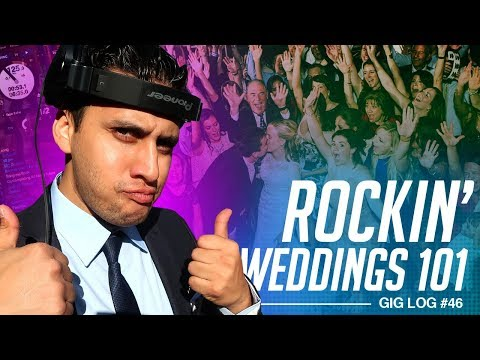 DJ GIG LOG: Rocking a Wedding 101 | DJ'ing By the Books