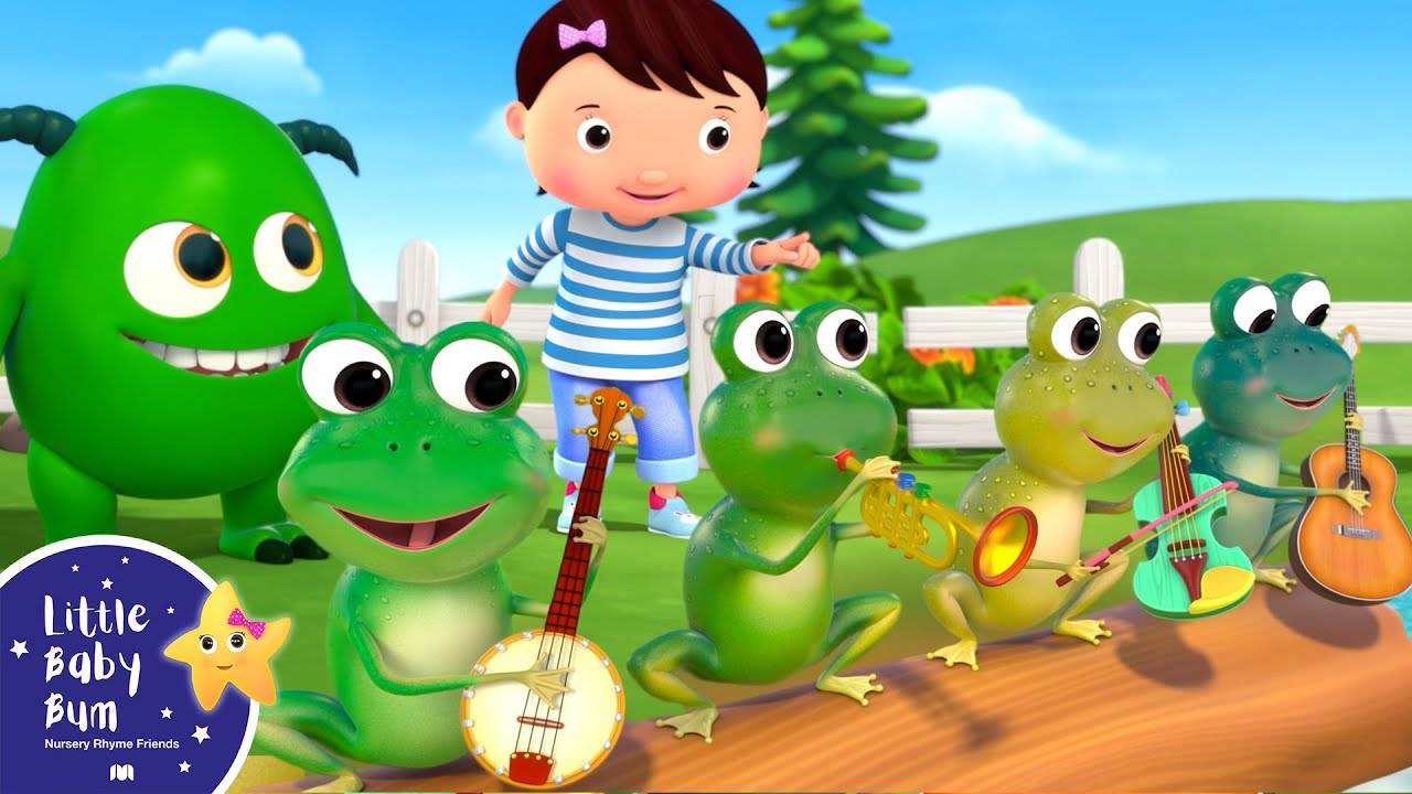 5 Little Speckled Frogs | Little Baby Bum - Brand New Nursery Rhymes for Kids