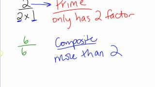 divisibility rules and prime and composite