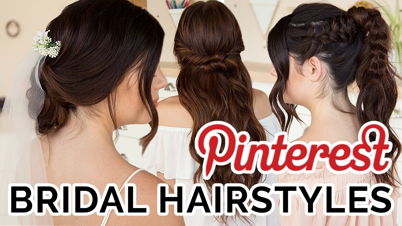 4 Pinterest Inspired Boho Bridal Hairstyles Ft Thesorrygirls