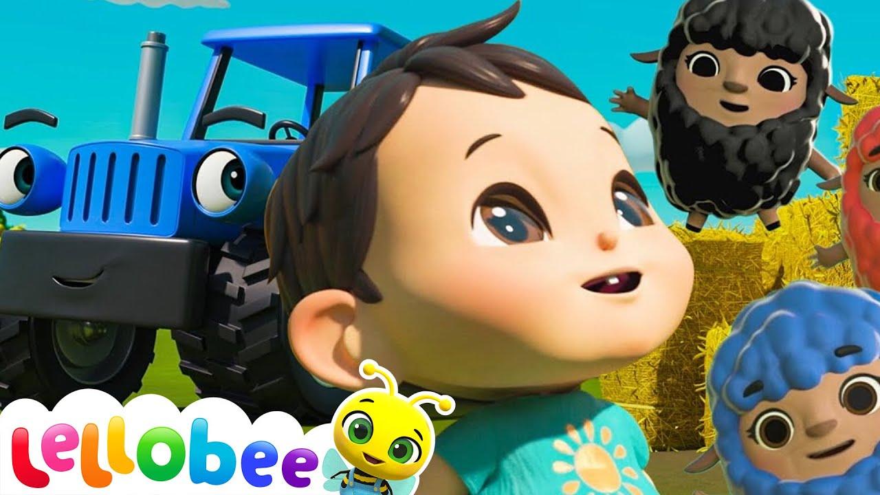 Baa Baa Black Sheep - Popular Baby Songs | Brand New Nursery Rhymes | ABC & 123 | Little Baby Bum