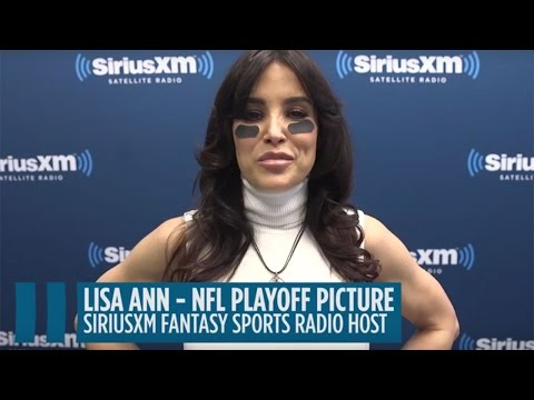 Lisa Ann's NFL Playoff Preview: Conference Championship Matchups // SiriusXM Sports