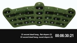 Metolius Simulator 3D - Intermediate Level Routine with TImer