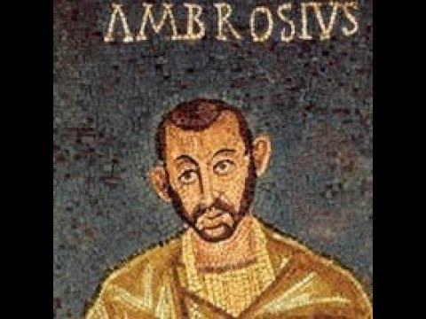 """Saint Ambroise de Milan, """"Je n'étais pas digne d'être évêque et je le savais"""" (+397), par A Dumouch"""