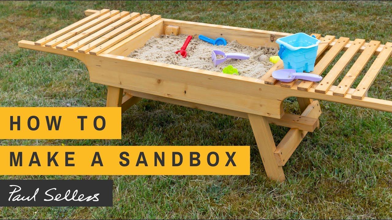 How to make a Sandbox   Paul Sellers