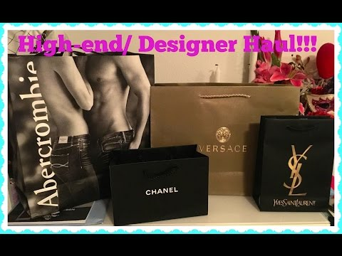High-end | Designer Haul - Chanel, Versace, YSL, Tom Ford & more