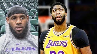 LeBron James Responds To Anthony Davis Trade To Lakers Rumors!