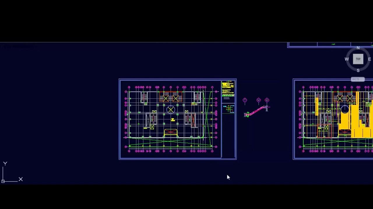 03 Flat Slab Shop Drawing y bottom reinforcement