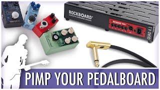 Build the Ultimate Pedalboard! (Rockboard Quad 4.2 + Cables & Accessories)