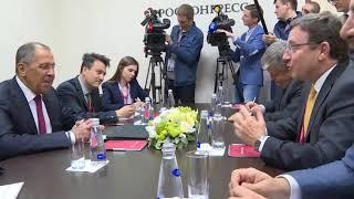 Смотреть видео С.Лавров и А.Стайнер, Санкт-Петербург, 25 мая 2018 года онлайн