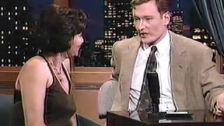 Eve Plumb on Late Night with Conan O'Brien 1993